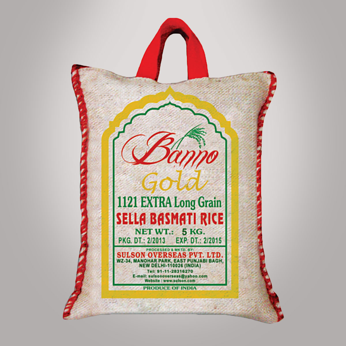 Banno Rice – Exceptional Basmati Rice From India